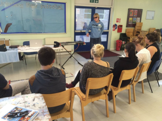 Global Music Visions taster session at Loud and Proud Community Group, Gosport