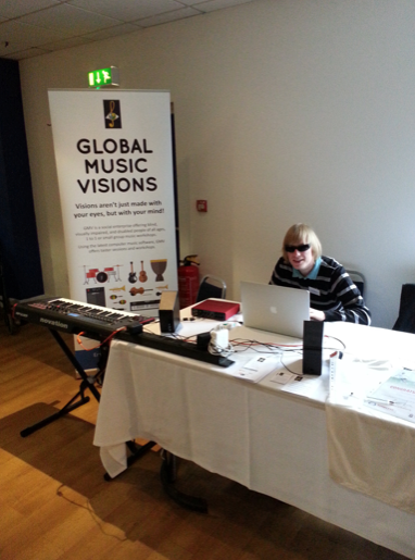 Global Music Visions at the Disability Empowerment Fayre, Portsmouth Football Club