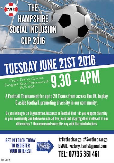 GMV at Hampshire Social Inclusion Cup 2016